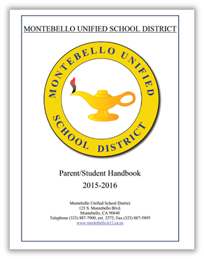 montebello unified parent student handbook picture