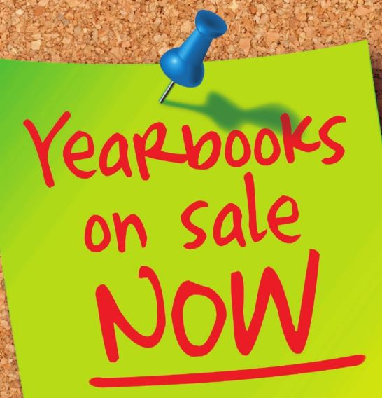 Yearbooks on sale clip art