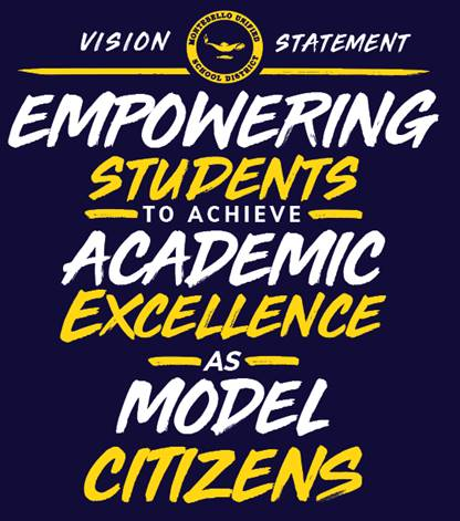 MUSD Vision Statement  Empowering students to achieve academic excellence as model citizens